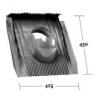 Alapcserép KE 0500 (univerzális d=125mm)